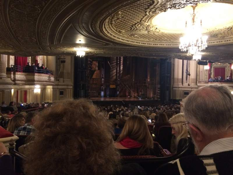 Seating view for Citizens Bank Opera House Section ORCBXL Row X Seat 55