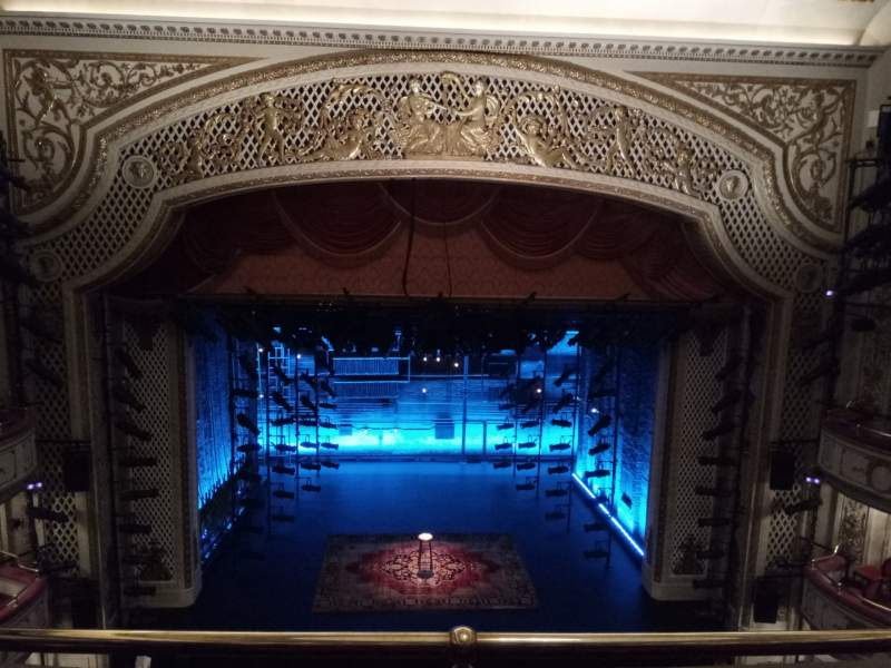 Seating view for Cort Theatre Section Balcony C Row C Seat 105