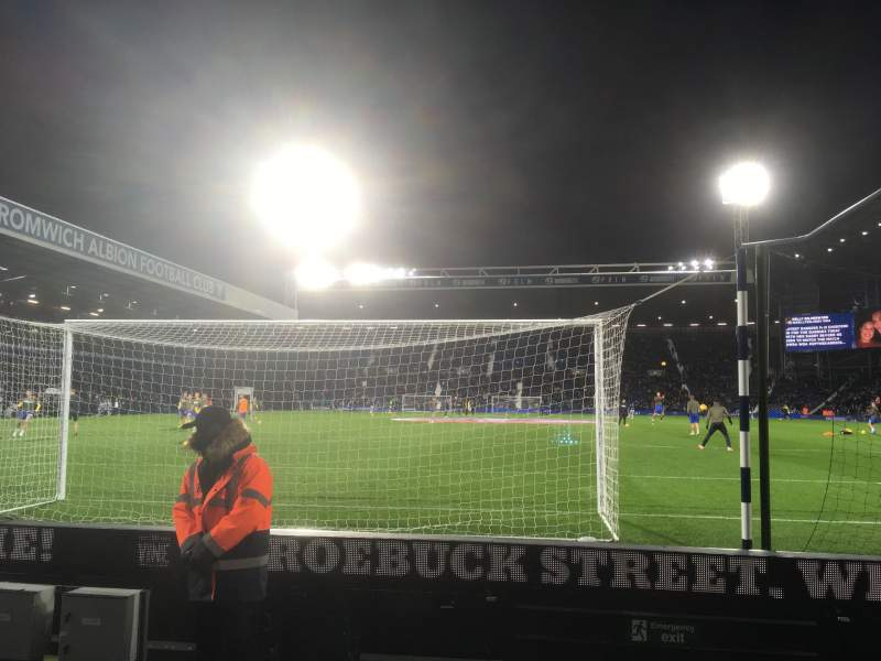 Seating view for The Hawthorns Section A6 Row E Seat 64