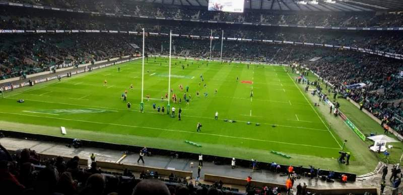 Seating view for Twickenham Stadium Section M19 Row 65 Seat 91