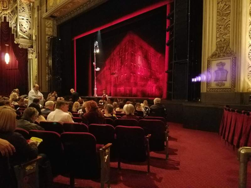 Seating view for Hollywood Pantages Theatre Section Orchestra R Row M Seat 4