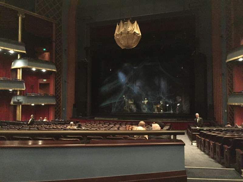 Seating view for Sarofim Hall Section ORCH Row JJ Seat 123