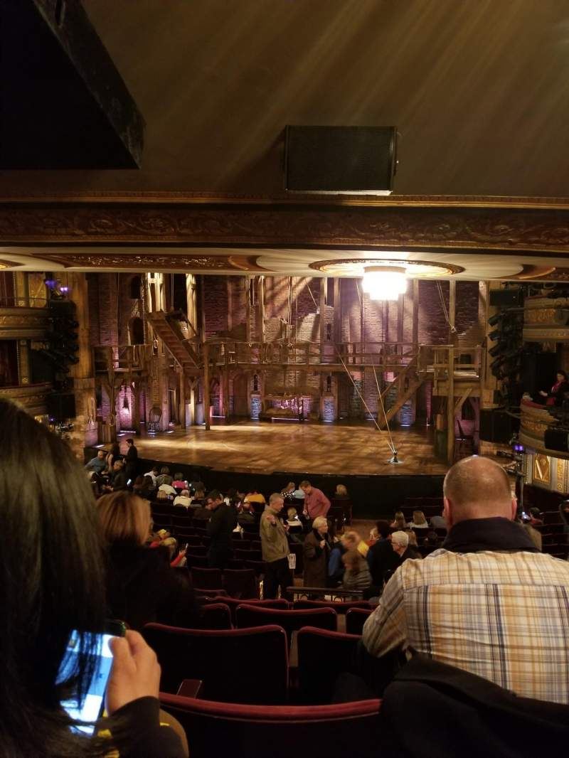 Seating view for Richard Rodgers Theatre Section Orchestra R Row T Seat 10