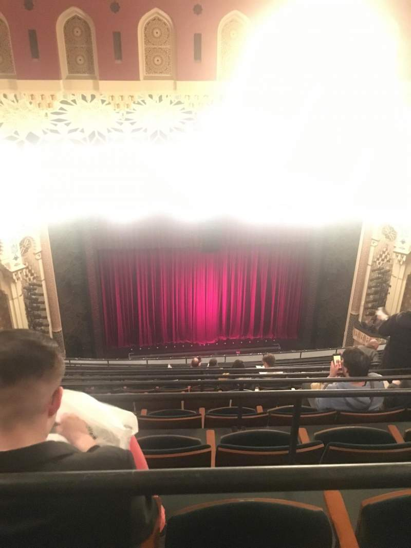Seating view for Mainstage at the New York City Center Section Balcony Row M Seat 122