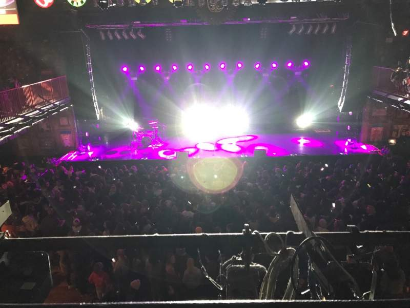 Seating view for House Of Blues - Boston Section Box 2 Row A Seat 103