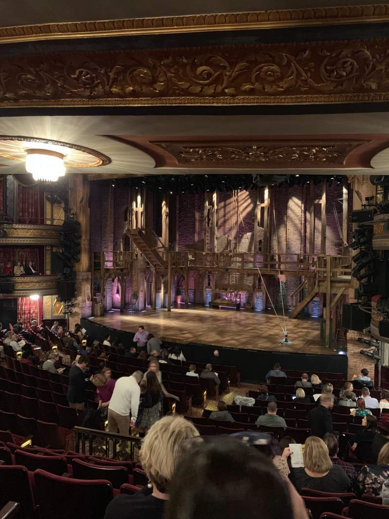 Seating view for Richard Rodgers Theatre Section Orchestra R Row R Seat 22