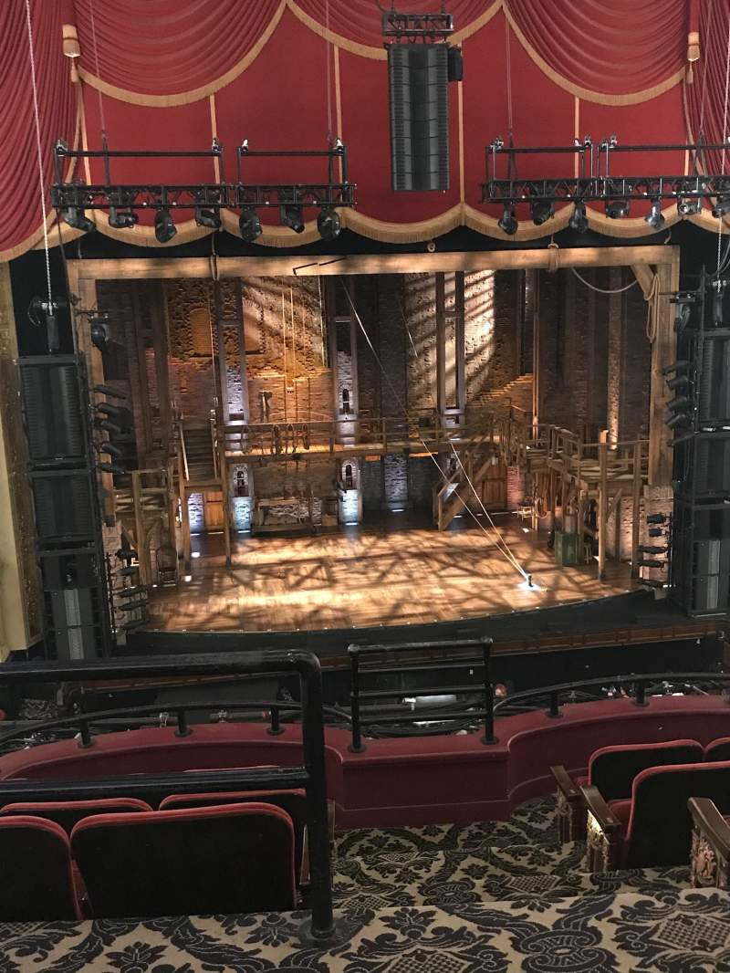Seating view for Citizens Bank Opera House Section MezzLC Row A Seat 113