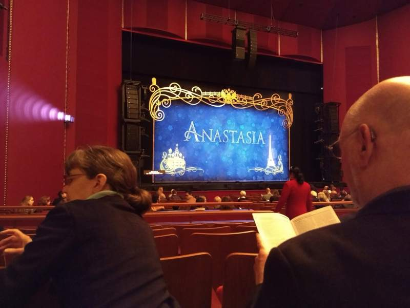 Seating view for The Kennedy Center Opera House Section Orchestra Row W Seat 7