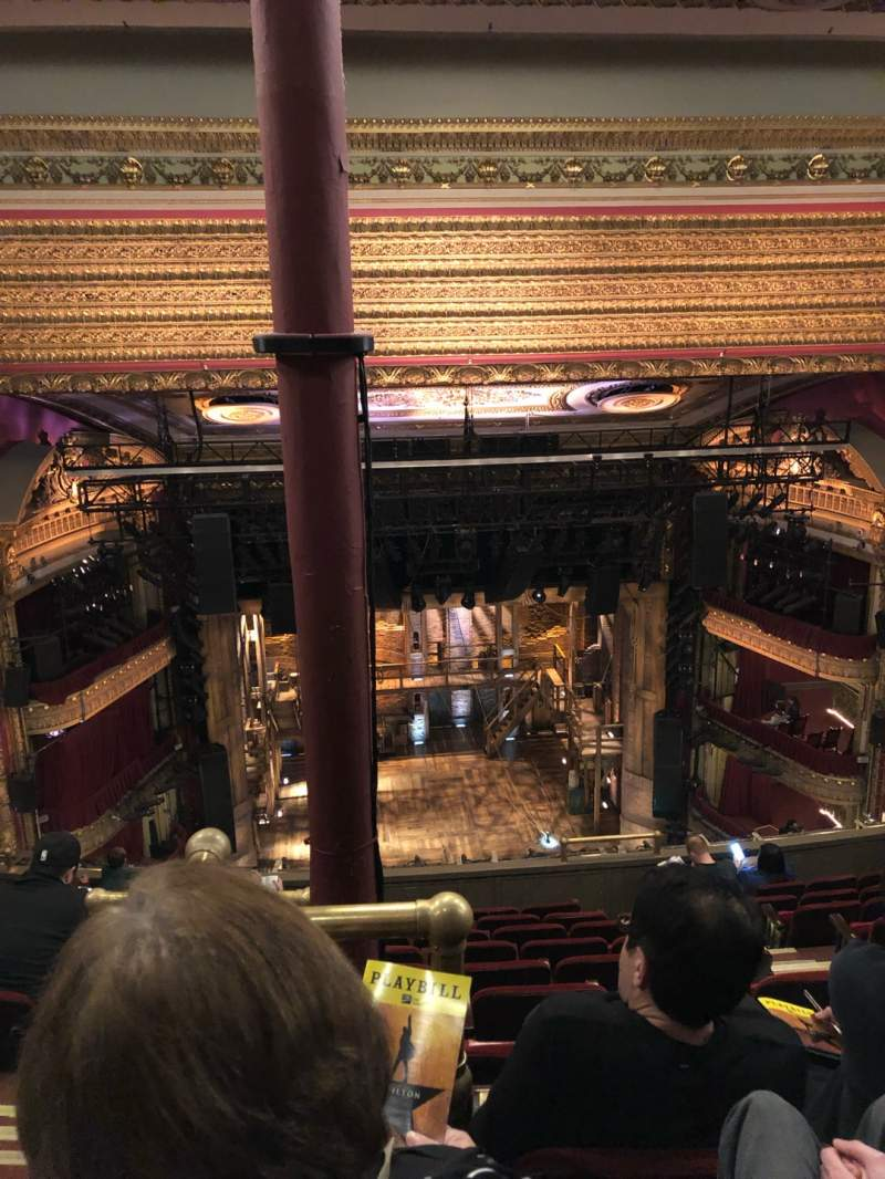 Seating view for CIBC Theatre Section Balcony LC Row K Seat 407