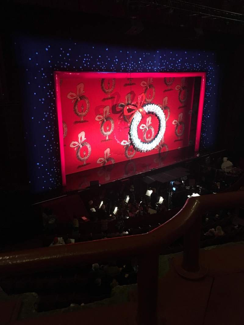 Seating view for Chicago Theatre Section Loge2L Row AA Seat 213