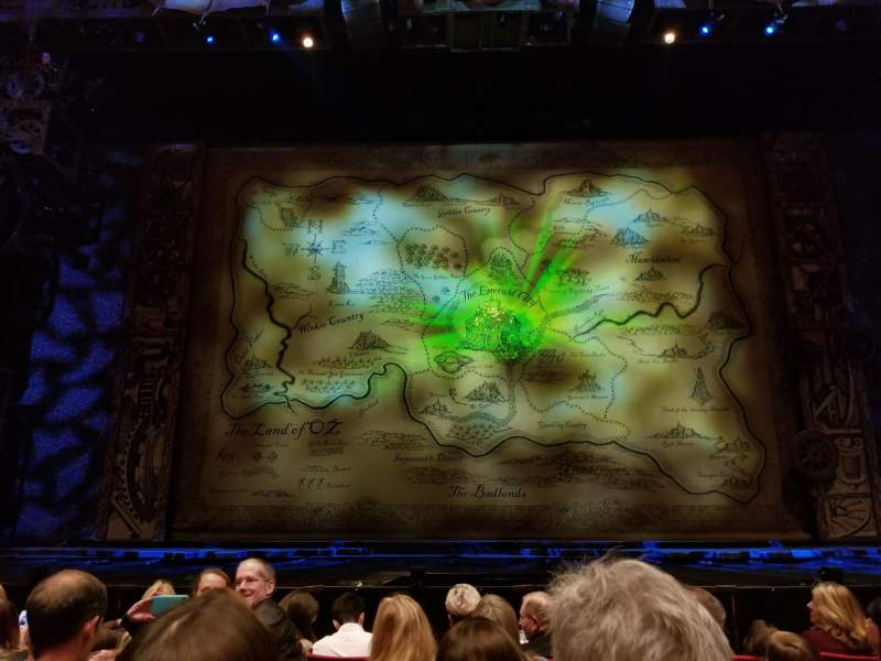 Seating view for San Diego Civic Theatre Section Orchestra L Row D Seat 1