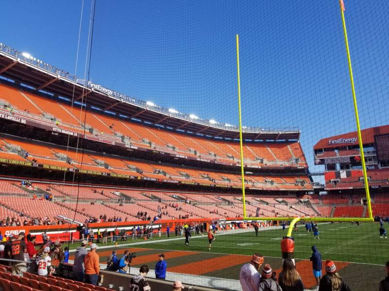 Seating view for FirstEnergy Stadium Section 147 Row 6 Seat 21
