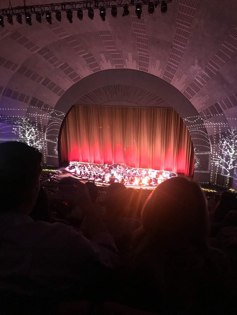 Seating view for Radio City Music Hall Section 3rd Mezzanine 2 Row D Seat 214