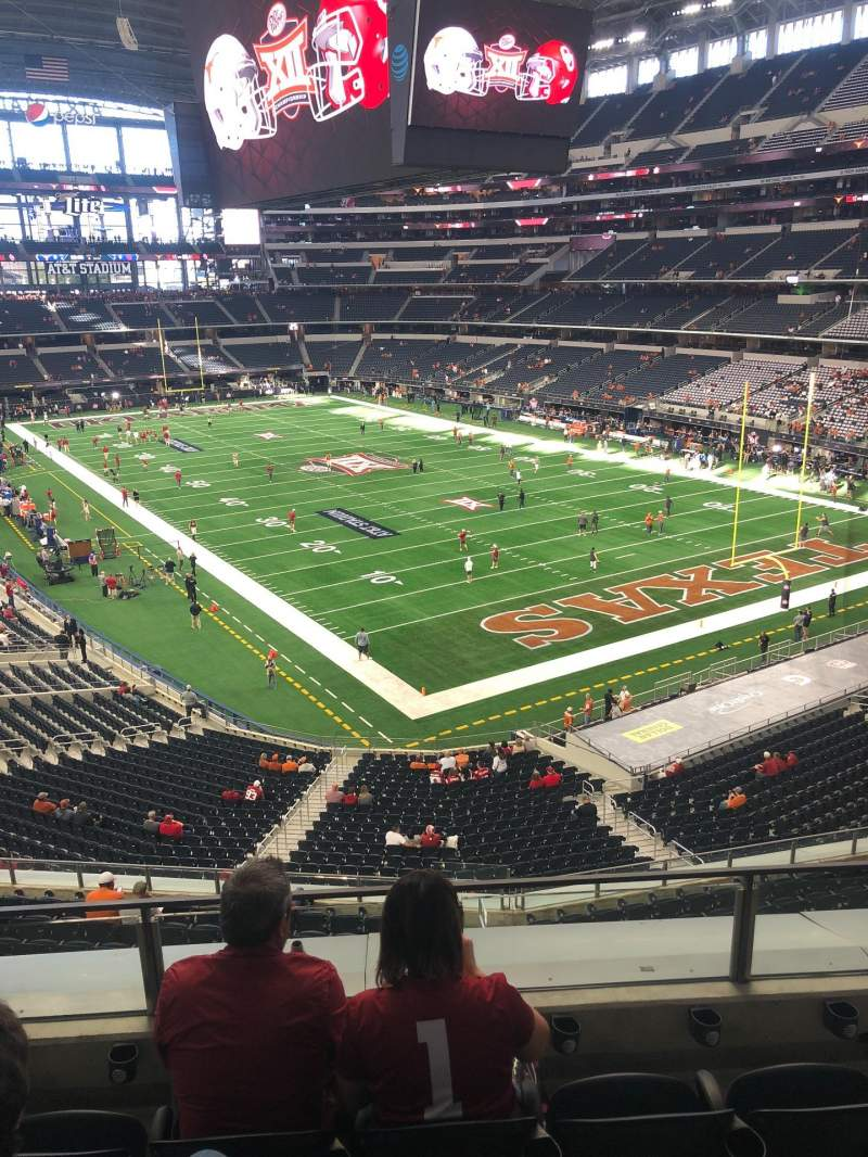 Seating view for AT&T Stadium Section 302 Row 4 Seat 22