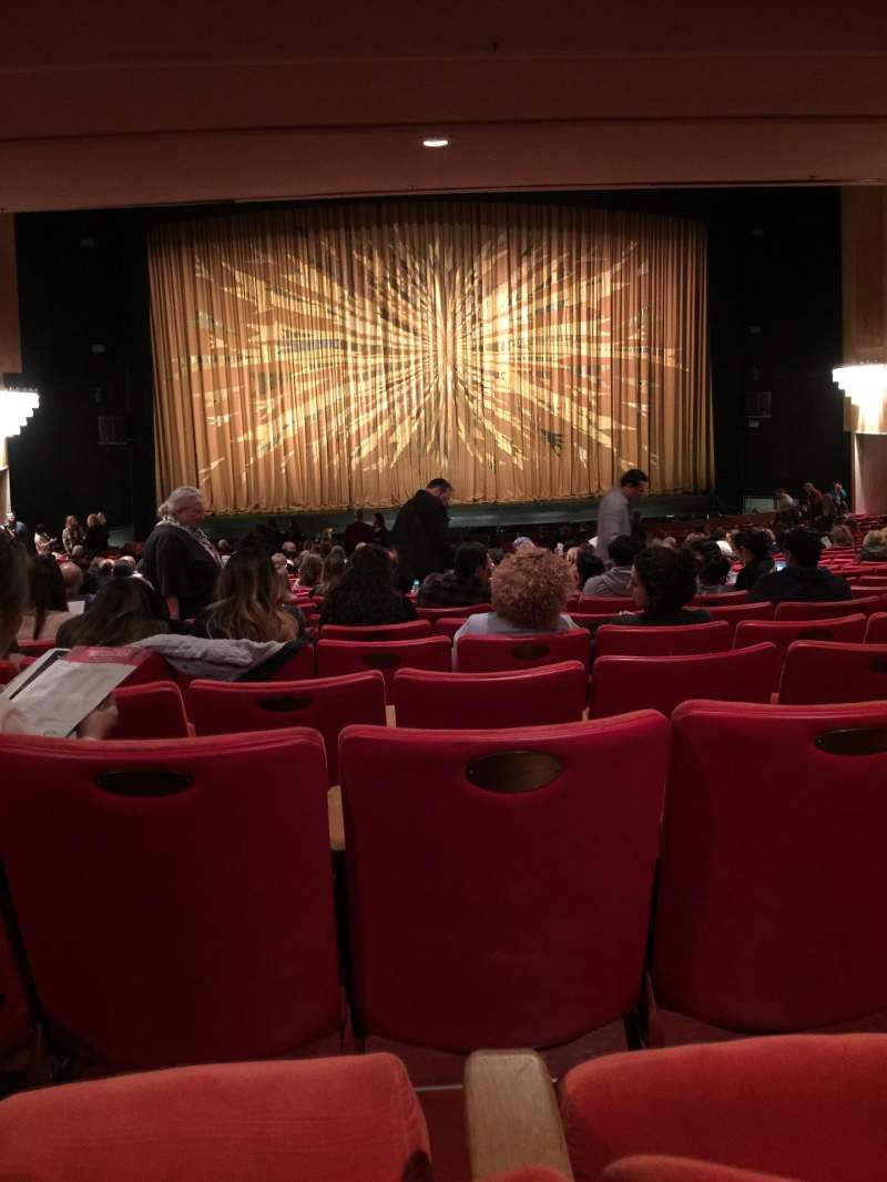 Seating view for Dorothy Chandler Pavilion Section Orchestra Row ZZ Seat 23