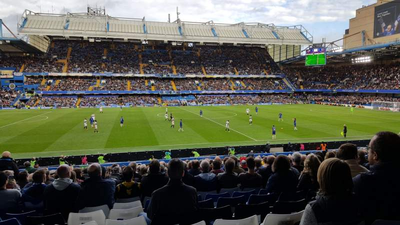 Seating view for Stamford Bridge Section West Lower Row 33 Seat 140