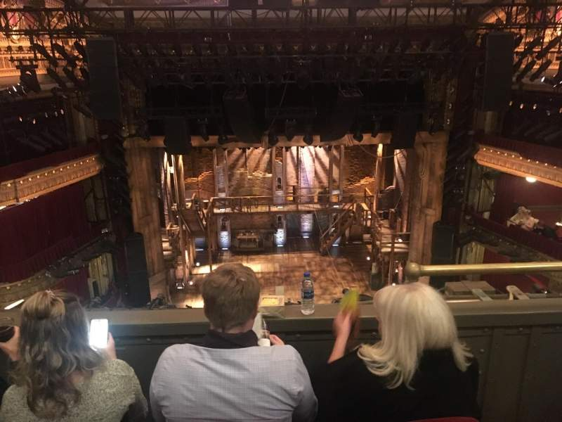 Seating view for CIBC Theatre Section Balcony LC Row C Seat 403