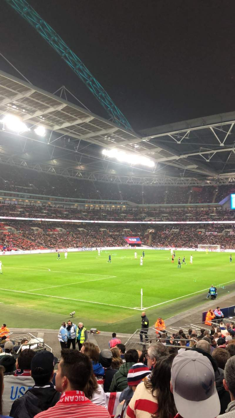 Seating view for Wembley Stadium Section 130 Row 22 Seat 192