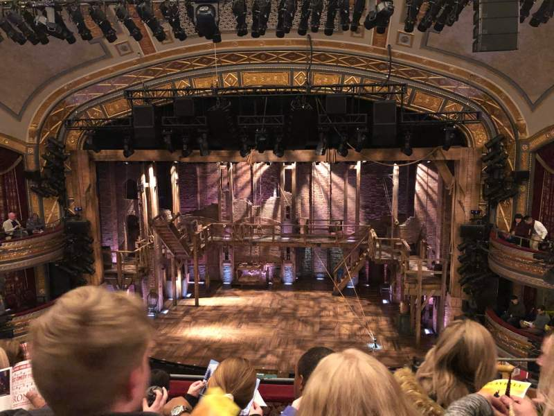 Seating view for Richard Rodgers Theatre Section FMEZZ Row E Seat 103