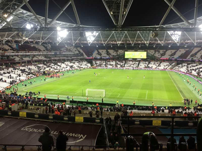 Seating view for London Stadium Section 224 Row 53 Seat 812
