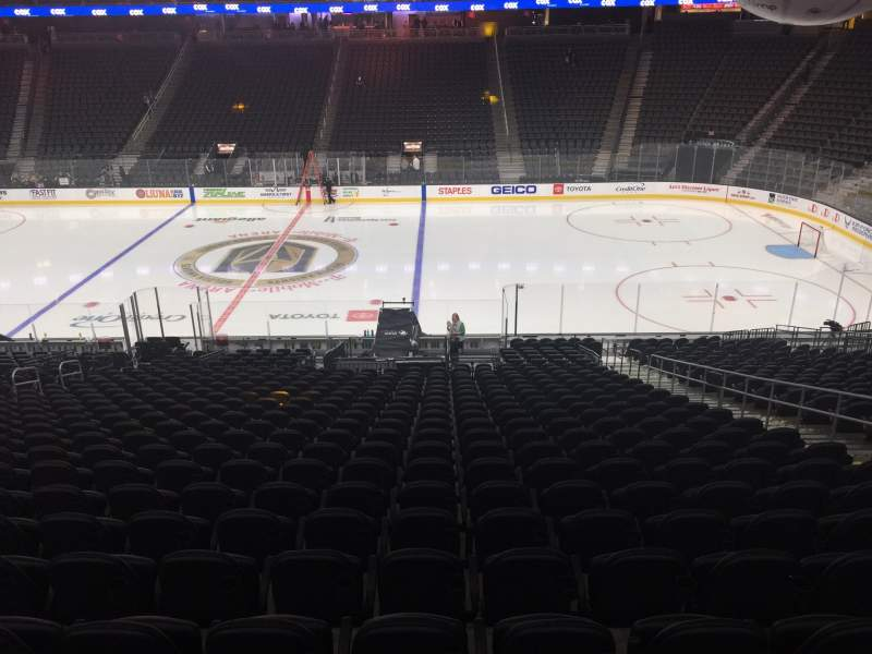 Seating view for T-Mobile Arena Section 6