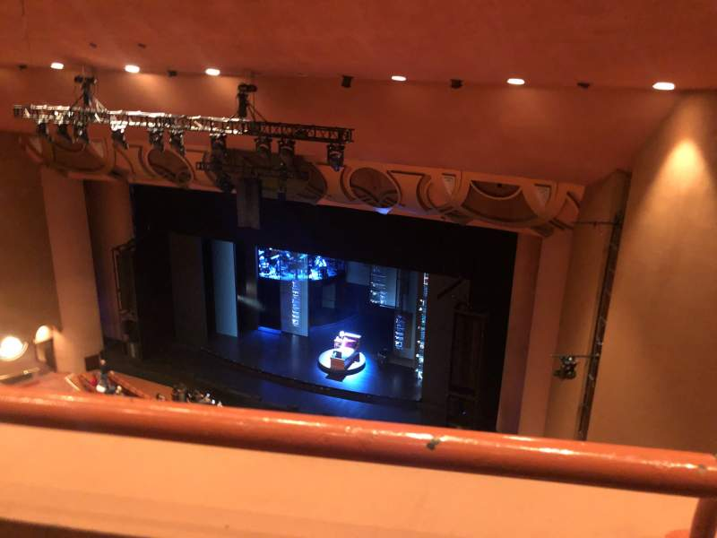 Seating view for ASU Gammage Section BALCD2 Row 1 Seat 50