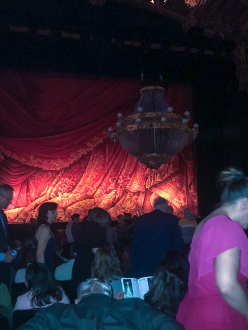 Seating view for Majestic Theatre - San Antonio Section Orchestra LC Row P Seat 115