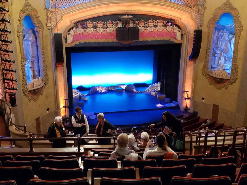 Seating view for Balboa Theatre Section Balcony2 Row P Seat 9