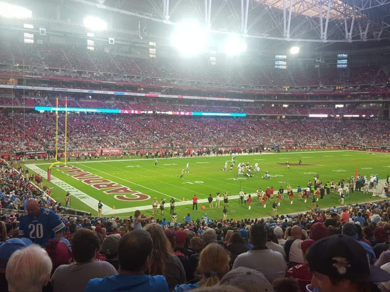 Seating view for State Farm Stadium Section 135 Row 37 Seat 33