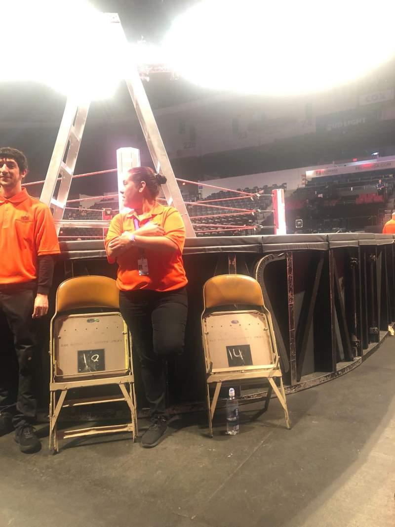Seating view for Pechanga Arena Section G Row 1 Seat 13