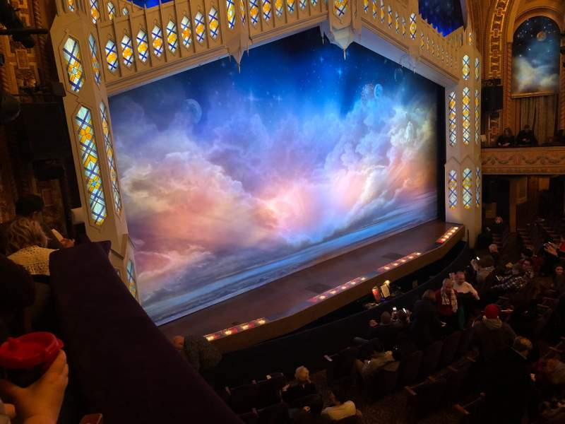 Seating view for Eugene O'Neill Theatre Section Boxes Left Row C  Seat 4