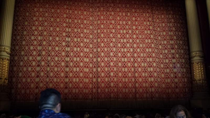Seating view for Academy of Music Section Parquet Center Row H Seat 111