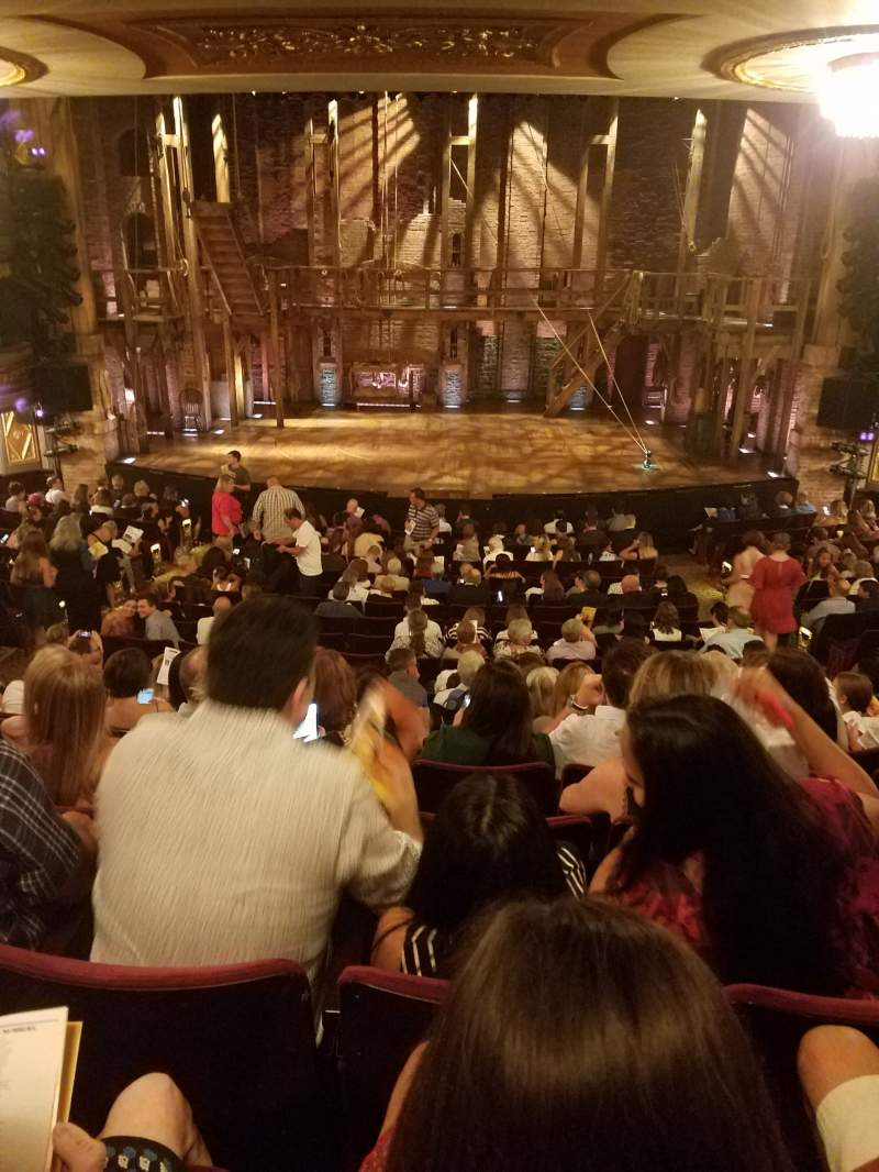 Seating view for Richard Rodgers Theatre Section ORCHESTRA C Row S Seat 106
