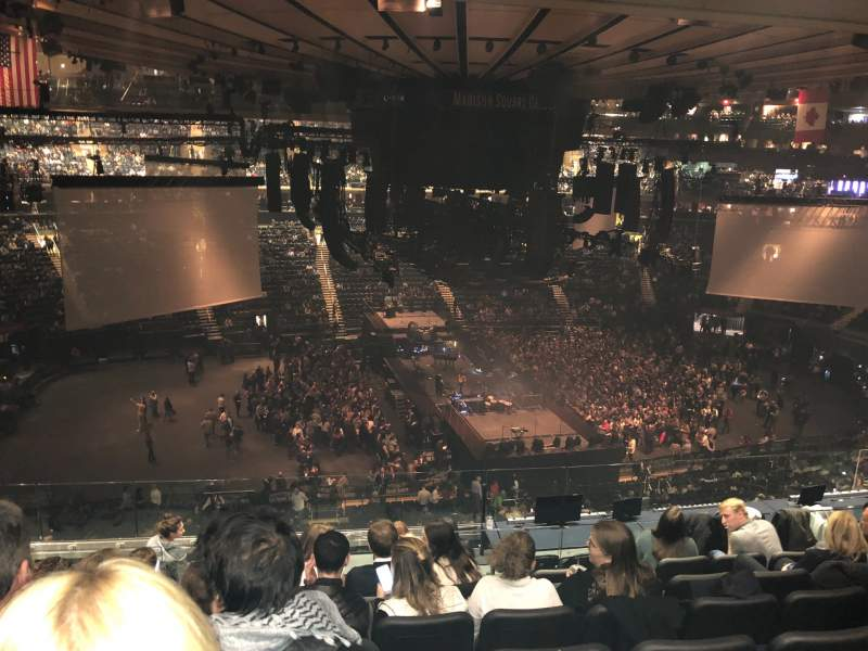 Seating view for Madison Square Garden Section 223 Row 10 Seat 4