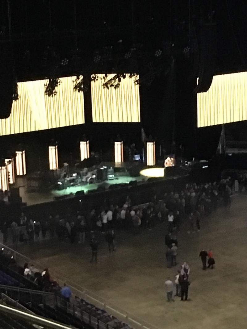 Seating view for The O2 Arena Section 406 Row F Seat 596