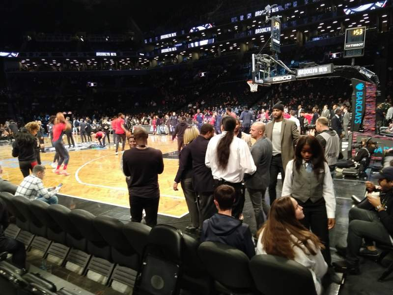 Seating view for Barclays Center Section 19 Row D Seat 13