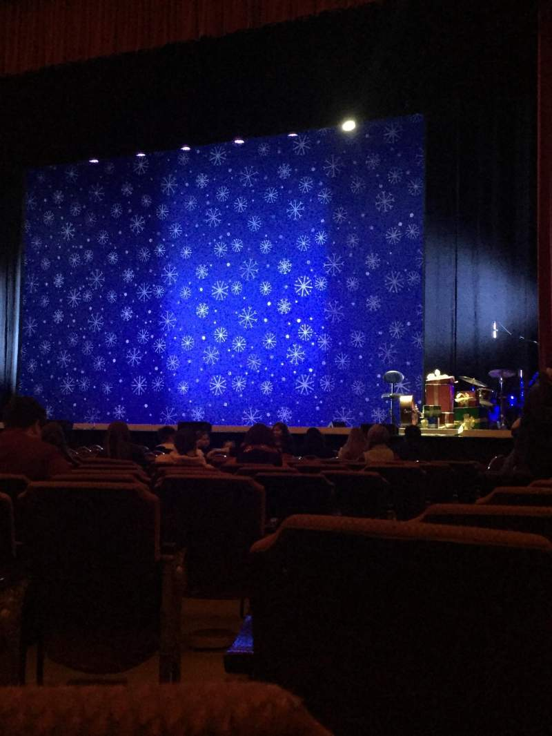 Seating view for Fox Theatre (Detroit) Section F5 Row L Seat 502