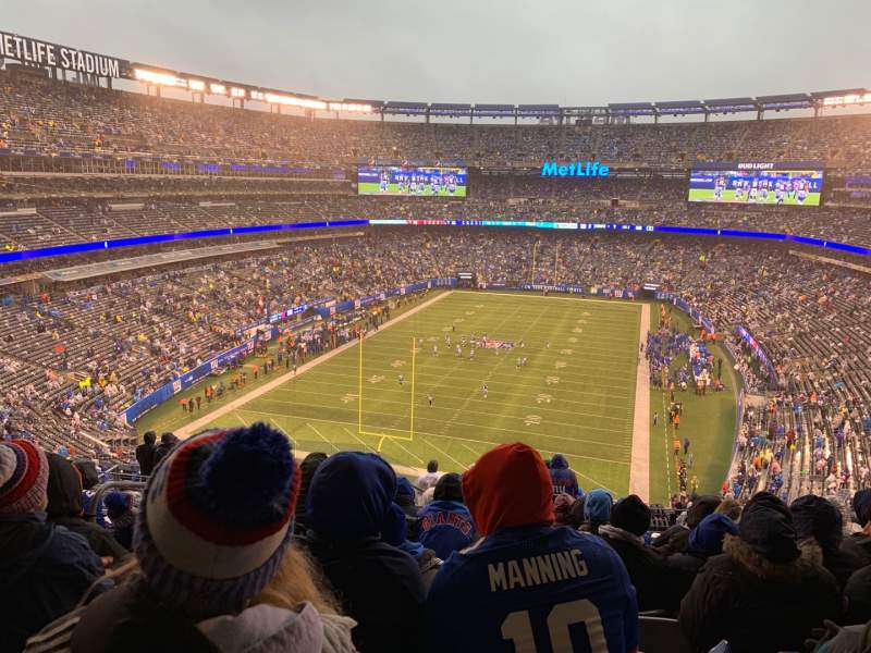 Seating view for MetLife Stadium Section 224b Row 12 Seat 22