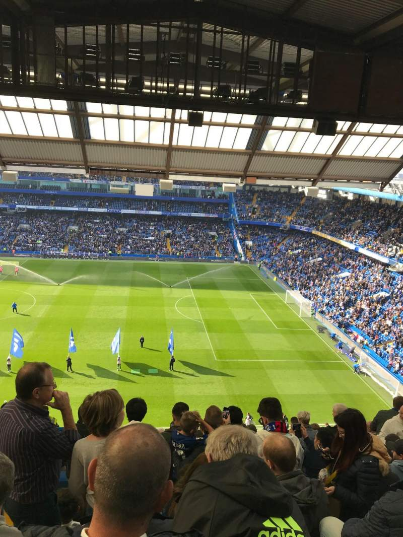 Seating view for Stamford Bridge Section Easy Upper North Row 27 Seat 40
