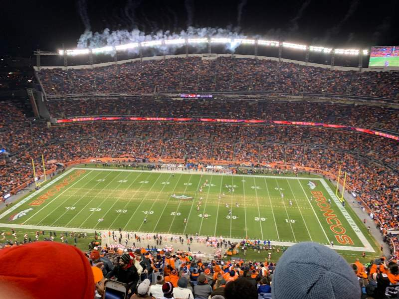 Seating view for Broncos Stadium at Mile High Section 532 Row 32 Seat 14