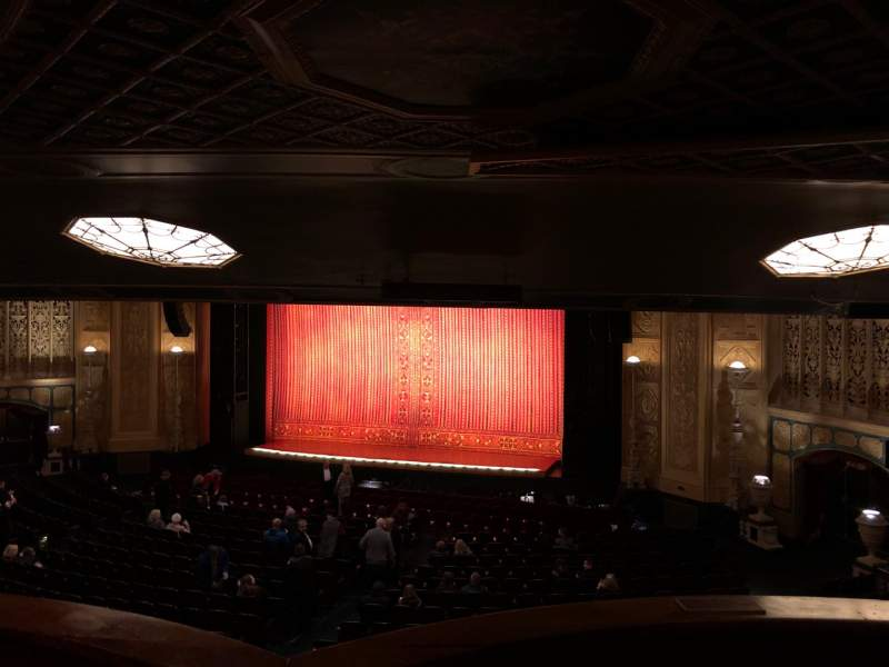 Seating view for Detroit Opera House Section Box 13 Row 3 Seat 12