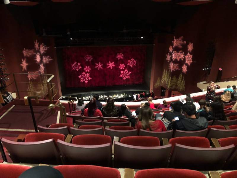 Seating view for San Diego Civic Theatre Section Balcony L Row Y Seat 11