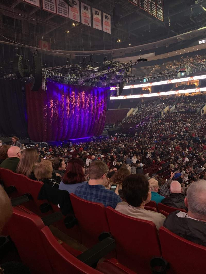 Seating view for Wells Fargo Center Section 102 Row 17 Seat 20