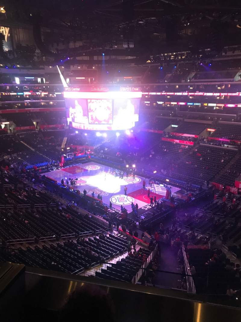 Seating view for Staples Center Section Suite C2 Seat GA