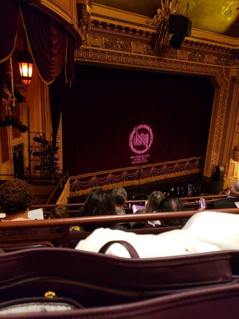 Seating view for Hippodrome Theatre Section LMBAL Row D Seat 215