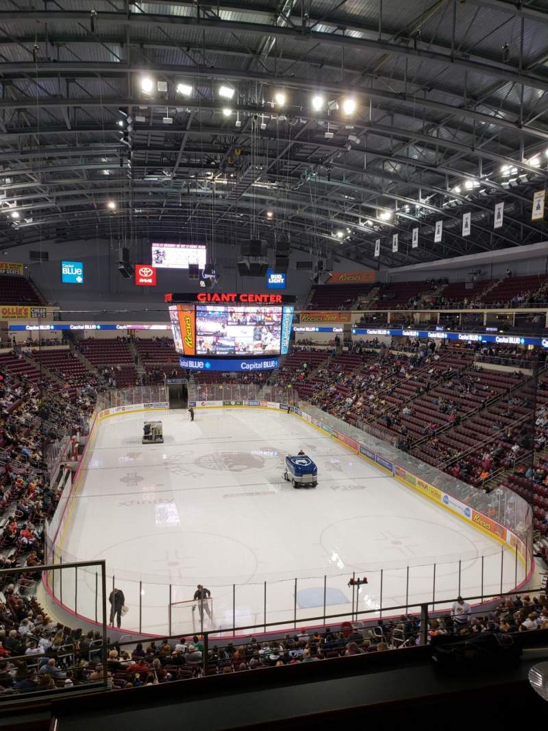Seating view for Giant Center Section Highmark Suite