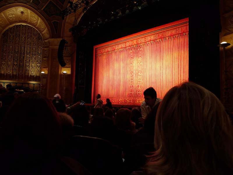 Seating view for Detroit Opera House Section Main Floor 4 Row L Seat 126