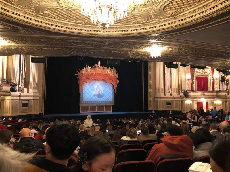 Seating view for Boston Opera House Section Orch Lft Row U Seat 27