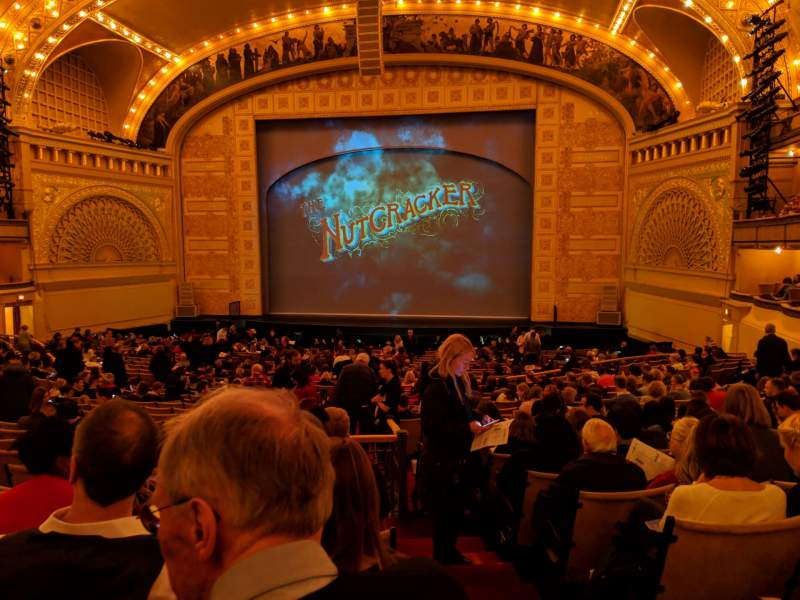 Seating view for Auditorium Theatre Section Dress-RC Row GG Seat 201