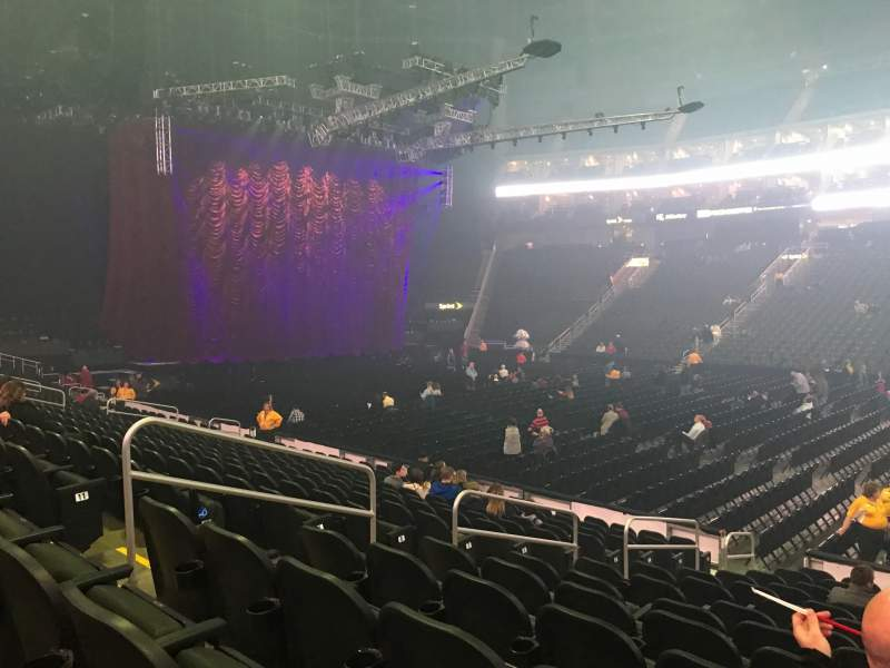Seating view for Sprint Center Section 105 Row 13 Seat 14